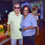 Jorge Salomão e Raquel Silva