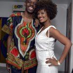 Kevin Ndjana e Isabel Fillardis