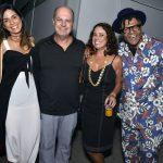 Luisi Valadão, Marcelo Castello Branco, Renata Araújo e Gabriel Moura
