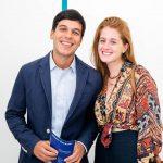 Luiz Guilherme Rodrigues e Cecilia Geyer