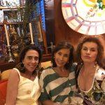 Mônica Marinho, Renata Lima e Dadinha Leitão