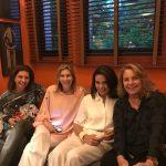 Maria Raquel Carvalho, Laurinha Simões, Marcia Lebelson e Kitty Assis