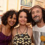 Marisa Silva, Isadora e Fernando Mendonça