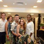 Nelson Muniz, Lourdes Lira, Vagner Bento, Lorrane Gama e Ana Paula de Moraes