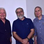 Antonio Manuel, Tadeu Chiarelli e Carlos Zílio