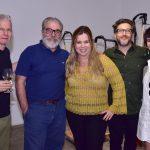 Daniel Feingold, Tadeu Chiarelli, Cassia Bomeny, Claudio Cretti e Fernanda Lopes