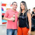 Ricardo Gutierrez e Angelica Monteiro