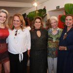 Roberta Fonseca, Renata Fraga, Teresa Macedo, Lúcia Fonseca e Thyna Mendes
