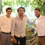 Rodrigo Vaz, Diego Lobo e Murilo Scarpa