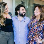 Thaissa Gar, Fabio Codeco e Maria Vargas