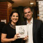 Vanessa Riche e Paulo Marinho