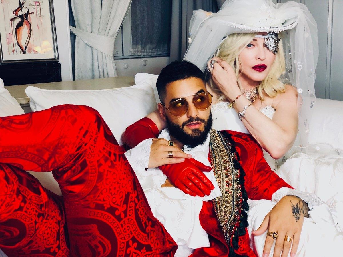 """Madonna pisa no freio, mas ainda transita em seu próprio universo em """"Medellín"""""""