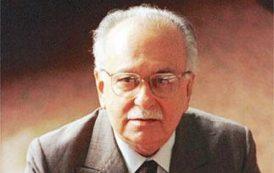 Ex-ministro da CulturaJosé Aparecido de Oliveira será homenageado na ABL