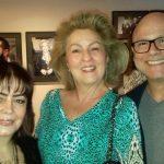 A pianista Maria Luiza Nobre, Margaret Padilha e Urbano Lopes