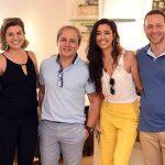 Natalia Veronezi, Marlon Castello Branco, Patricia Coelho e Marcelo Guidine