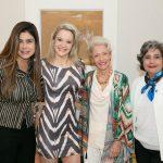 Ana Lucia Santana, Roberta Monteiro da Fonseca, Lucia Fonseca e Claudia Samico