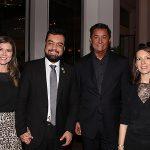 Analise, Claudio Castro, JR Pereira e Chloe Target Adams