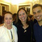 Beth Serpa, com Teresa Calero e Raphael Calero