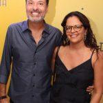 Edgar Miranda e Fabiana Fontoura