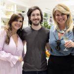 Fabienne Bezerra, Luiz Ludwig e Cristiane Parisi