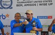 Rodrigo Lombardi vence o 3º Torneio Bem, Amigos de Golfe Wise up em Orlando