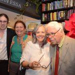 Geraldo Carneiro, Ana Maria Machado, Rosiska Darcy de Oliveira e Sérgio Rouanet