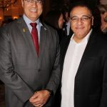 Wilson Witzel e Presidente da RecordTV Rio Fabiano Freitas