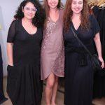 Inez Viana, Virgínia Barros e Debora Lamm