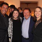 JR Pereira, Emily Prazer, Aristides Corbellini e Chloe Target Adams