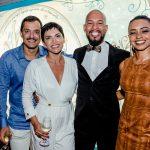 João Sabia, Ana Carolina de Oliveira, Ricardo Oliveira e Camilla Varjão