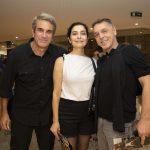 Jose Henrique Fonseca, Leticia Sabetella e Guilherme Leme