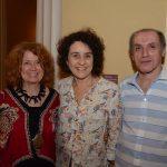 Josely Carvalho, Lúcia Helena Tapajós Santos e Carlos Dimuro