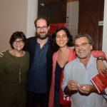 Lucia Ibrahim, Daniel Barretto, Tania Sarquis e Antonio Mendel