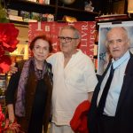 Lucy e Luiz Carlos Barreto e Carlos Nejar