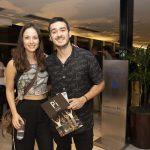 Marcos Veras e Rosanne Mulholland