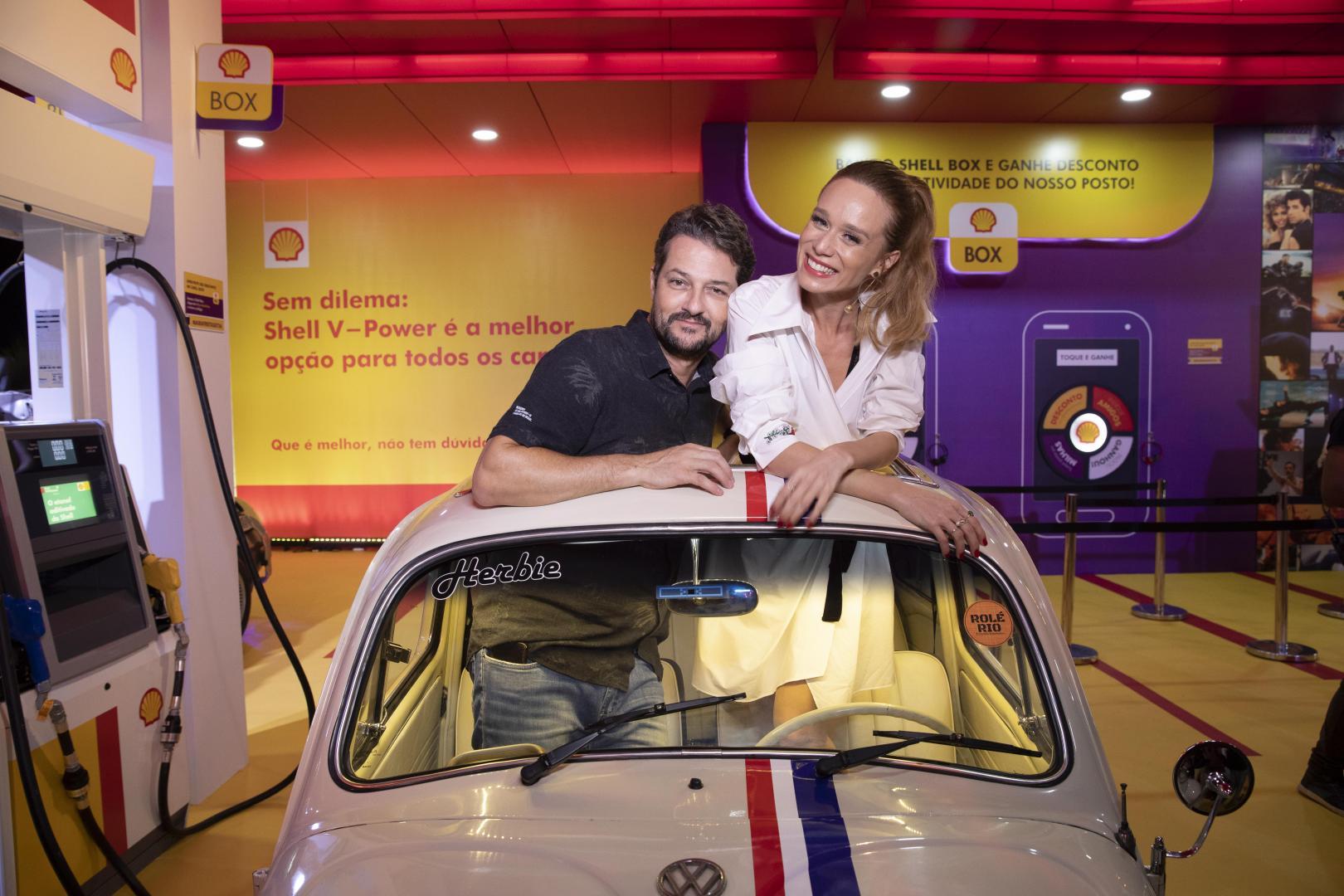 Mariana Ximenes e Marcelo Serrado marcam presença no Shell Open Air
