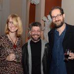 Micheline Menin, Jefferson Nepomuceno e Daniel Barretto
