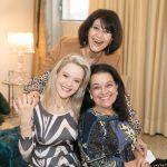Micheline Thomé, Roberta Monteiro da Fonseca e Raquel Resende