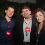 Pedro Casares, Bruno Mondin e Andreia Repsold