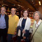 Pedro Amado, Claudio Roberto, Patrícia e Marhta Spyer