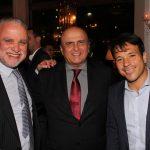 Presidente da Cedae Hélio Cabral, Presidente Tribunal de Contas José de Moraes e Deputado Estadual Carlo Caiado