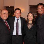 Presidente do Tribunal de Contas José de Moraes, Marcelo Crivella, Chloe Target Adams e JR Pereira