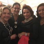 Regina Rique, Beth Pinto Guimarães, Angela Brant e Lucia Gross