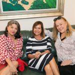 Rose Addario, Jaqueline Barreto e Sueli Lobo Lima