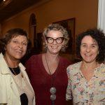 Tetê Moraes, Emília Moraes e Lúcia Helena Tapajós Santos