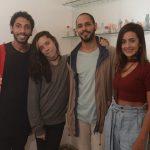 Thiago Borges, Pit Nunes, Gabriel Harley e Louise Silveira