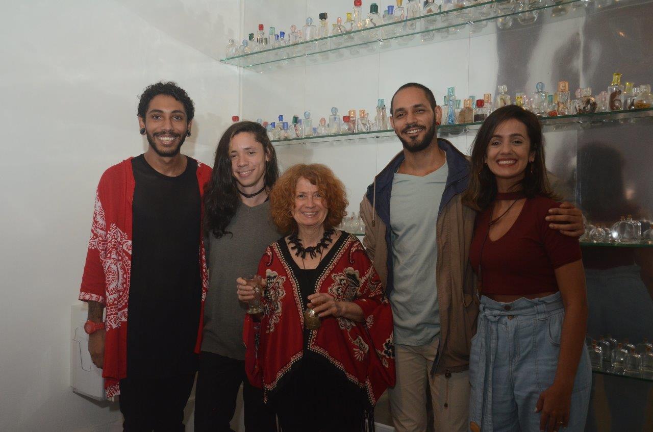 Museu Nacional de Belas Artes recebe instalação olfativa de Josely Carvalho