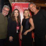 Thomaz Naves, Andreia Repsold com Claudia Liechavcius e Marcus Vieira Freire