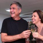 Toni Oliveira e Vírginia Barros