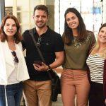 Patricia Mayer, Rodrigo Barbosa, Taiana Velasco e Carolina Castanheira